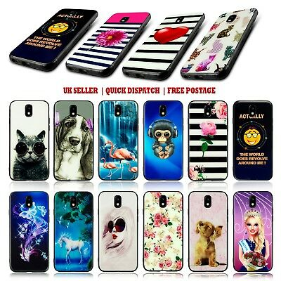 For Samsung Galaxy J3 2017 + Many New Models Tpu Gel Skin Fitted Back Case Cover