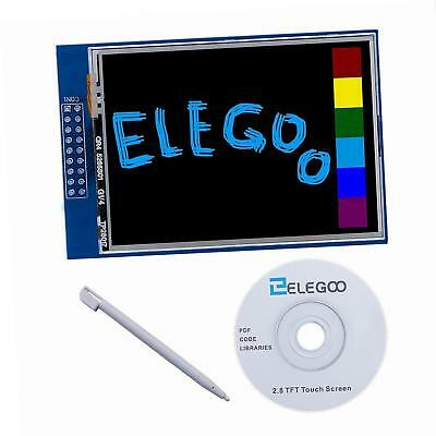 Elegoo UNO R3 2.8 Inches TFT Touch Screen with SD Card Socket. AMAZING PRICE