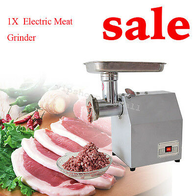 Stylish Design Stainless Steel Electric Meat Grinder Kitchen Process Commercial
