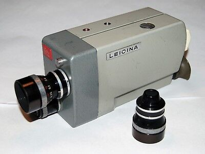 LEITZ LEICINA CINE CAMERA WITH 15mm and DYGON LENSES