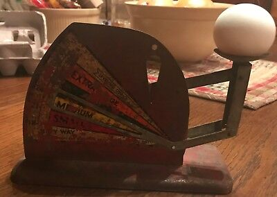 Vintage Egg Scale Jiffy Way