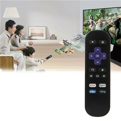 Replacement IR Streaming Remote Control Fit ROKU 2 3 4 LT HD XD XS Media Player