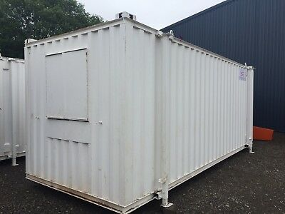 20ftx8ft Anti Vandal Canteen & Drying Room - Good Condition