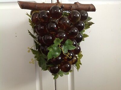 1950's Acylic Grapes hanging lamp
