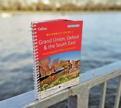 Grand Union, Oxford & the South East No. 1:  Nicholson canals & rivers book