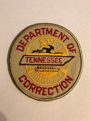 Tennessee Department of Correction DOC TN Police Sheriff Patch 1