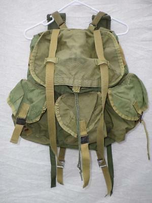 Us Military Old School Green Alice Pack Unknown Era No Frame Used