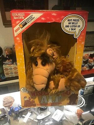 New 1987 WISECRACKING TALKING ALF DOLL Coleco Alf Plush Alf puppet