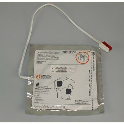 Cardiac Science Powerheart G3 AED Adult Defib Pads expiry: 28-2-2019