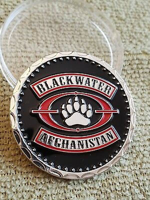 Blackwater CIA Challenge coin Military