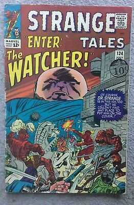 Strange Tales (Vol 1) # 134 (VG) Marvel Comic