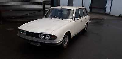 1973 Triumph 2000 2500S Manual With Overdrive 2.5 Restoration Project