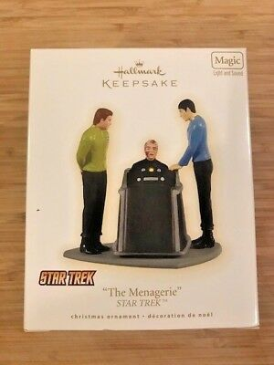 "Hallmark Keepsake Ornament Star Trek ""The Menagerie"""