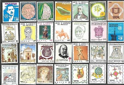 Mexico Stamps Pictorials Mint Never Hinged Free Shipping