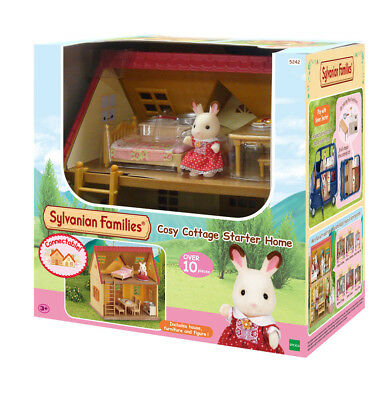 5242 Sylvanian Families Cosy Cottage Starter Home inc Figure Kids Girls 3+