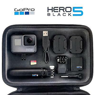 GoPro HERO5 Black Edition 4K HD Action Cam Camera Camcorder Master Kit Bundle