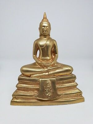 Original Temple blessed Thai Amulett Buddha Statue LP SOTHORN Magic