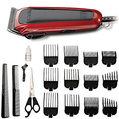 New Professional Barber Set Shaver Clipper Trimmer Combo Andis 20 Piece Hair Kit