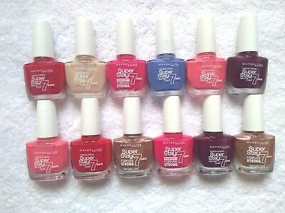Maybelline Forever Strong Super Stay 7 Days Gel Nail polishes - Assorted