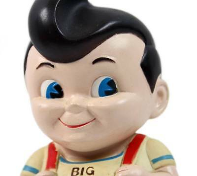 "Vintage 1970's Frisch's BIG BOY Restaurant 8.5"" Rubber Still Coin Bank"