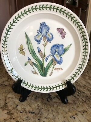 "Portmeirion Botanic Garden 8 1/2"" Salad Plate   Treasure Flower"