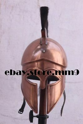 Medieval Wearable Greek Helmet Ancient Corinthian Helmet Roman Spartan Helmet