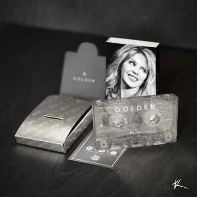 Kylie Minogue Golden Cassette Christmas Collector's Limited Edition Silver Tape