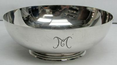 Tiffany & Co Sterling Silver Candy Dish Monogrammed