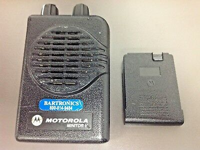 Motorola Minitor 5 Pager Only, Model # A03KMS9238BC, VHF, 1 CH, SV , Programmed
