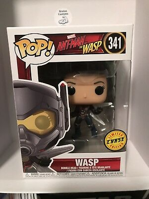 Funko Pop Marvel: Ant-Man and the Wasp - Wasp #30730 CHASE LIMITED W Protector