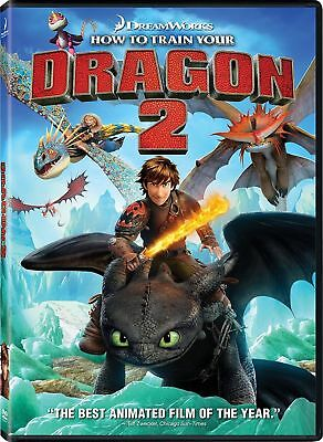 HOW TO TRAIN YOUR DRAGON 2 DVD New & Sealed 5039036066532