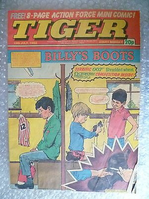 Comic- Tiger , 16th July 1983- BILLY'S BOOTS