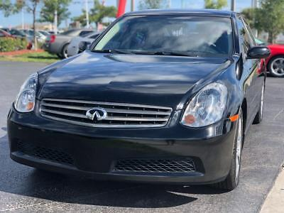 2006 Infiniti G35  2006 Infiniti G35 Base 4dr Sedan w/Automatic 116K Miles 3.5L V6 FLORIDA OWNED