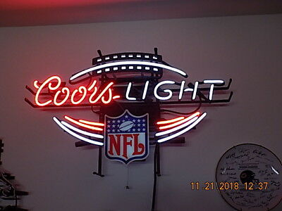 NFL Coors Neon light