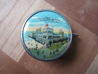 Vintage Atlantic City Tape Measure (Made in Germany)