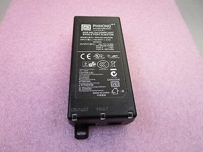 Phihong PSA16U-480 48V 1-PORT PoE Injector Power Supply 802.3af