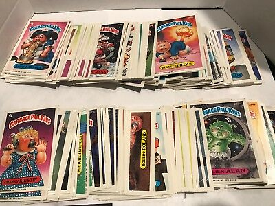 1987 Garbage Pail Kids 7th Series Lot (286) Cards All New Series 7 FREE SHIPPING