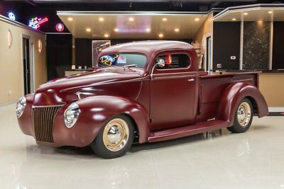 1940 Ford Pickup Street Rod Custom '40 Pickup! 350ci V8, TH350 Automatic, Ford 8 in, Air Ride, Rat Rod