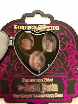 Disney Pin Haunted Mansion Bride Locket Friday The 13Th Le