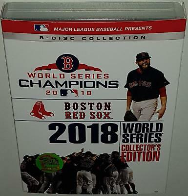 Mlb 2018 World Series Champions Collectors Edition Boston Red Sox New R1 Dvd