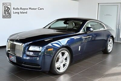2015 Rolls-Royce Wraith  Front Ventilated & Massage Seats - Seat Piping - Polished Stainless Steel Pckg