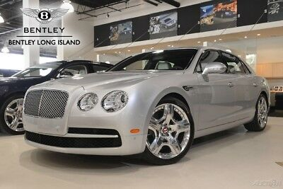 2015 Bentley Flying Spur V8 (Certified Pre-Owned) Mulliner Driving Specification - Veneered Picnic Tables - Seat Piping
