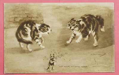 """Dr Who  Pc Cats """"just Before The Battle Mother"""" Signed Und #7 19741"""