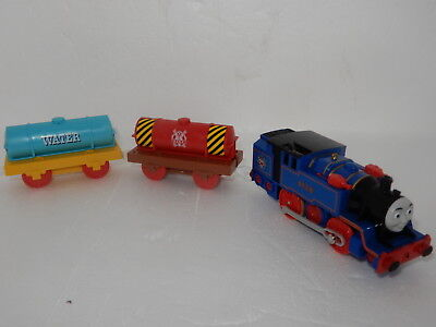 "Thomas The Tank Engine Tomy ""belle & 2 Tankers"" Brand New Rare Import"