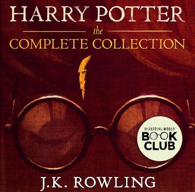 Harry Potter Audiobook 1-8  all the Book Electronically too
