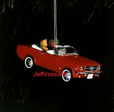 Classic Christmas (1964 1/2) Mustang Carlton Cards Ornament