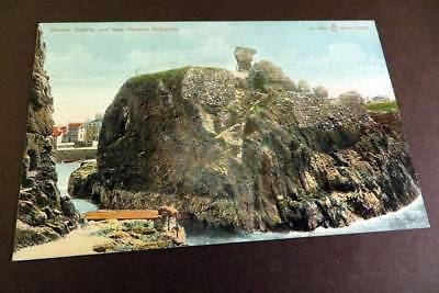 DUNBAR c1905 Castle & New Harbour Entrance