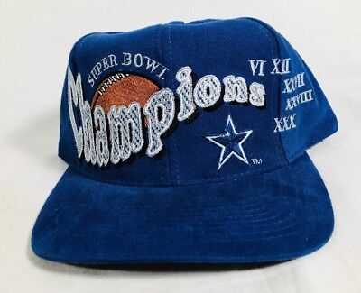 huge discount e83ef f50fa ... discount code for vtg 90s dallas cowboys super bowl champions snapback  hat db8cd 0202c