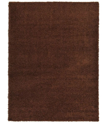 Modern Luxury Dark Brown Area Rugs Large Thick 7x10