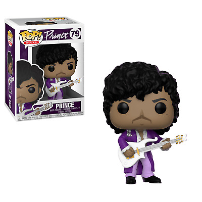 Funko Pop Rocks Prince Purple Rain 4 Inch Vinyl Figure New!